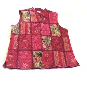 Vintage Chinese Style Vest